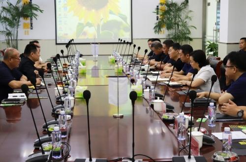 省生态环境厅副厅长何立涛一行领导莅临东华钢铁开展指导调研工作